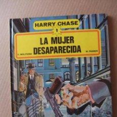 Cómics: HARRY CHASE Nº 1 LA MUJER DESAPARECIDA GRIJALBO/DARGAUD 1981 TAPA DURA. Lote 98193707