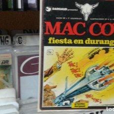 Cómics: MAC COY Nº 10. FIESTA EN DURANGO. GRIJALBO. Lote 98217927