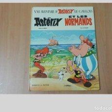 Cómics: ASTERIX Y LOS NORMANDOS.AÑO 1966.TAPA DURA.DARGAUD.. Lote 98237331