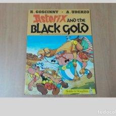 Cómics: ASTERIX Y EL ORO NEGRO.AÑO 1984.TAPA BLANDA.HODDER STOUGHTON. Lote 98238615