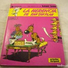 Cómics: LIBRO LUCKIE LUKE TAPA DURA. LA HERENCIA DE RANTAN PLAN. Lote 98354911