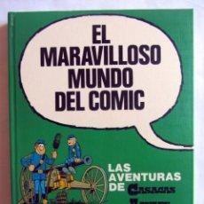 Cómics: EL MARAVILLOSO MUNDO DEL COMIC. TOMO 4. LAS AVENTURAS DE CASACAS AZULES. Lote 98381839