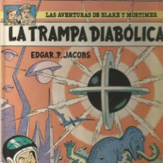 Cómics: LAS AVENTURAS DE BLAKE Y MORTIMER LA TRAMPA DIABÓLICA Nº 6. Lote 98386679