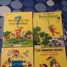 Cómics: LOTE DE LOS 4 PRIMEROS COMICS DE SPIROU EDITORIAL MUNDIS. Lote 98508459