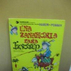 Cómics: UNA ZANAHORIA PARA IZNOGUD. GOSCINNY-TABARY. EDICIONES JUNIOR . GRIJALBO. 1977.. Lote 98619799