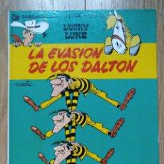Cómics: LUCKY LUKE Nº 16. LA EVASION DE LOS DALTON. GRIJALBO 1981. Lote 98657099