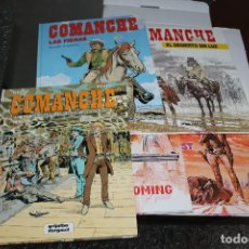 Cómics: COMANCHE, COLECCIÓN COMPLETA, TAPA DURA, EDITORIAL GRIJALBO. Lote 98672163