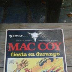Cómics: MAC COY FIESTA EN DURANGO. Lote 98677950