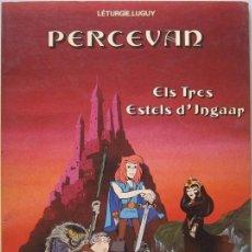 Cómics: LÉTURGIE – LUGUY. PERCEVAN Nº 1. ELS TRES ESTELS D'INGAR. GRIJALBO 1984. Lote 98739351