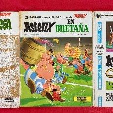 Cómics: ASTERIX 1980 ASTERIX Y CLEOPATRA , ASTERIX EN BRETAÑA Y EN CORCEGA DARGAU UNA AVENTURA DE ASTERIX. Lote 99067287
