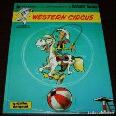 Cómics: LUCKY LUKE - WESTERN CIRCUS - MORRIS/GOSCINNY - GRIJALBO/DARGAUD - 1992 - EN CATALÁN. Lote 99224107