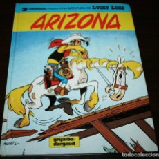 Cómics: LUCKY LUKE - ARIZONA - MORRIS/GOSCINNY - GRIJALBO/DARGAUD - 1993 - EN CATALÁN. Lote 99224275