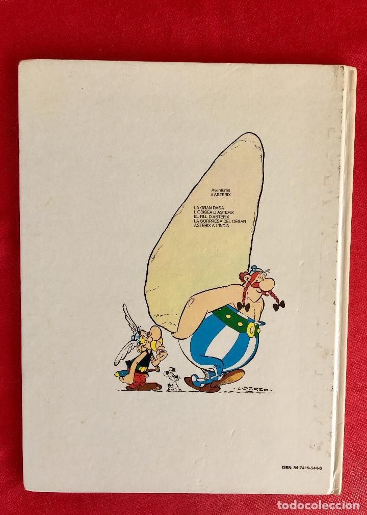 Cómics: Asterix a l'india primera edición 1987 catalán catala obelix buen estado - Foto 3 - 99283591