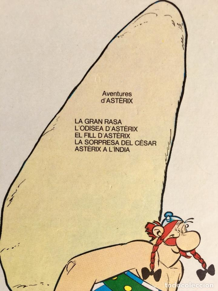 Cómics: Asterix a l'india primera edición 1987 catalán catala obelix buen estado - Foto 4 - 99283591