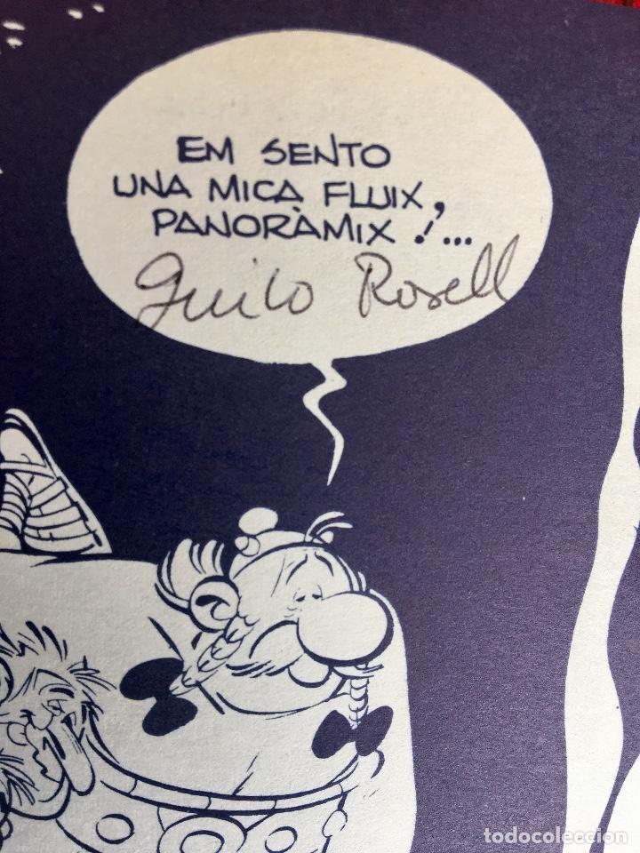 Cómics: Asterix a l'india primera edición 1987 catalán catala obelix buen estado - Foto 6 - 99283591