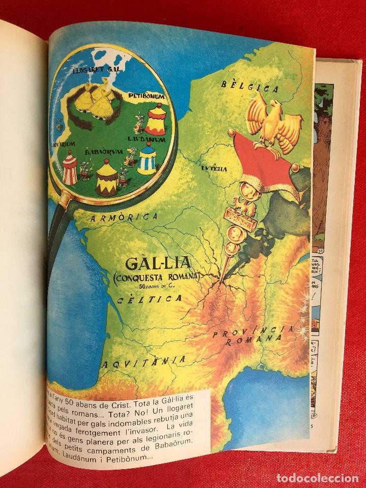 Cómics: Asterix a l'india primera edición 1987 catalán catala obelix buen estado - Foto 8 - 99283591