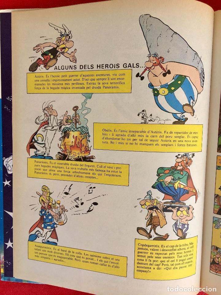 Cómics: Asterix a l'india primera edición 1987 catalán catala obelix buen estado - Foto 10 - 99283591
