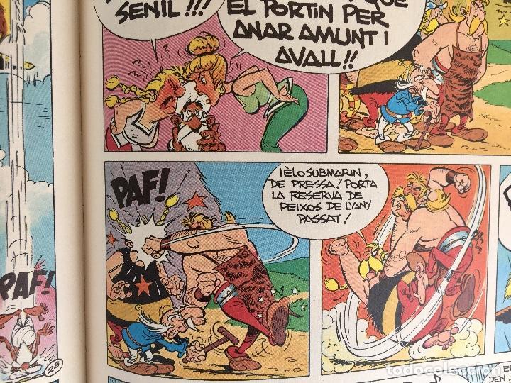 Cómics: Asterix a l'india primera edición 1987 catalán catala obelix buen estado - Foto 12 - 99283591