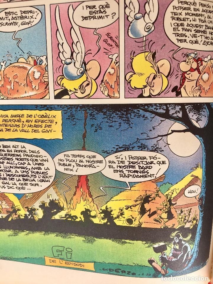 Cómics: Asterix a lindia primera edición 1987 catalán catala obelix buen estado - Foto 14 - 99283591