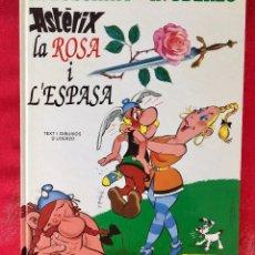 Cómics: ASTERIX LA ROSA I L'ESPASA PRIMERA EDICIÓN 1991 CATALÁN CATALA OBELIX BUEN ESTADO. Lote 99284111