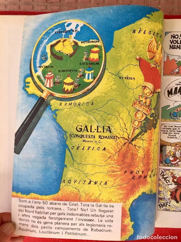 Cómics: Asterix la rosa i lespasa primera edición 1991 catalán catala obelix buen estado - Foto 7 - 99284111