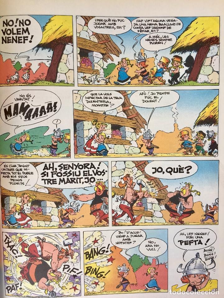 Cómics: Asterix la rosa i lespasa primera edición 1991 catalán catala obelix buen estado - Foto 8 - 99284111