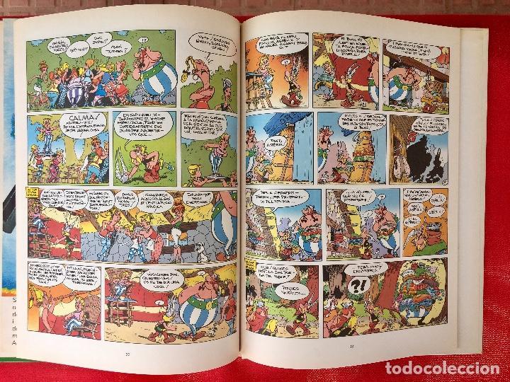 Cómics: Asterix la rosa i lespasa primera edición 1991 catalán catala obelix buen estado - Foto 9 - 99284111