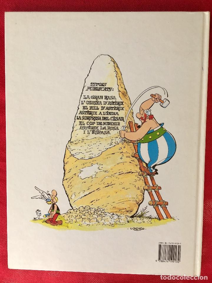 Cómics: Asterix la rosa i lespasa primera edición 1991 catalán catala obelix buen estado - Foto 13 - 99284111