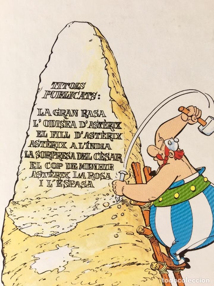 Cómics: Asterix la rosa i lespasa primera edición 1991 catalán catala obelix buen estado - Foto 14 - 99284111