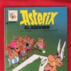 Cómics: ASTERIX EL ADIVINO 1981 PRIMERA EDICIÓN DARGAUD BUEN ESTADO OBELIX. Lote 99291327
