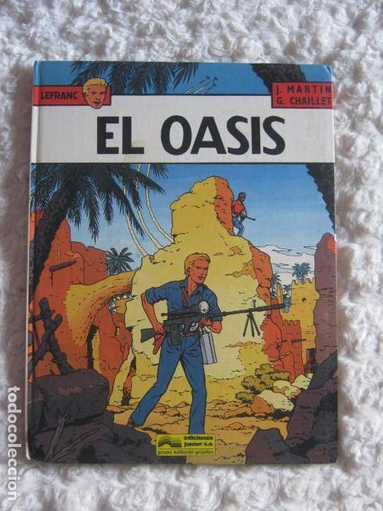 LEFRANC- EL OASIS N. 7 (Tebeos y Comics - Grijalbo - Lefranc)