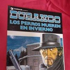 Cómics: DURANGO. Nº 1. LOS PERROS MUEREN EN INVIERNO. GRIJALBO. . Lote 99398511