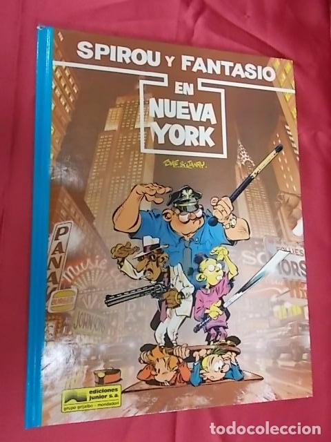 LAS AVENTURAS DE SPIROU Y FANTASIO. Nº 25. EN NUEVA YORK. GRIJALBO. (Tebeos y Comics - Grijalbo - Spirou)
