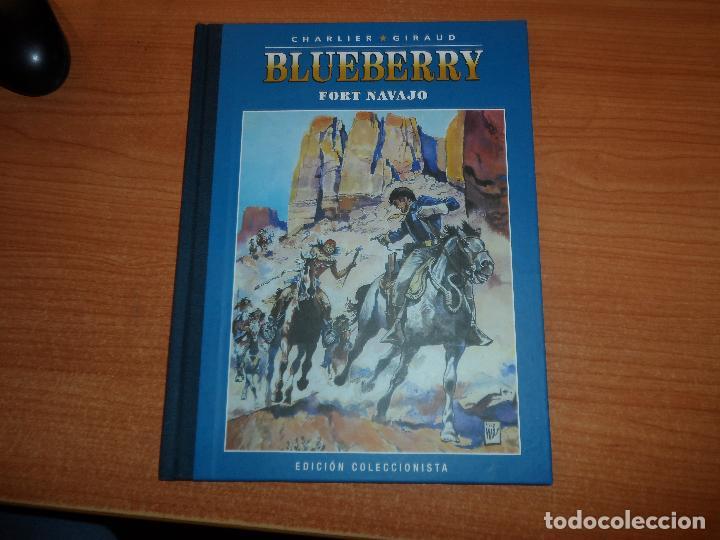 TENIENTE BLUEBERRY Nº 1. FORT NAVAJO CHARLIER Y GIRAUD EDICION COLECCIONISTA (Tebeos y Comics - Grijalbo - Blueberry)