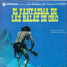 Cómics: EL FANTASMA DE LAS BALAS DE ORO - TENIENTE BLUEBERRY - GIRAUD - CHARLIER - 1977 GRIJALBO JUNIOR Nº 2. Lote 99798043