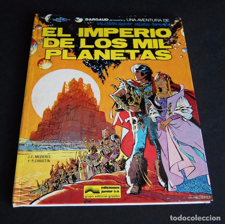 VALERIAN, EL IMPERIO DE LOS MIL PLANETAS. PRESENTADO POR DARGAUD. EDITA GRIJALBO 1978 (Tebeos y Comics - Grijalbo - Valerian)