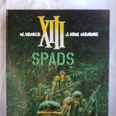 Cómics: XIII - SPADS Nº 04 - W. VANCE - J. VAN HAMME. Lote 99983439
