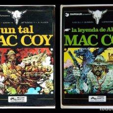 Cómics: MAC COY. LOS DOS PRIMEROS TOMOS. DE A.H. PALACIOS Y GUION DE J.P. GOURMELEN. GRIJALBO 1978. Lote 99985091
