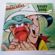 Cómics: EL LIBRO DE LAS MÁSCARAS. LUCKY LUKE.. Lote 269017464