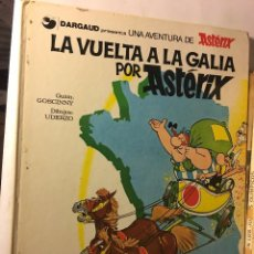 Cómics: ANTIGUO TEBEO AÑOS 70/80 BRUGUERA UNA AVENTURA DE ASTERIX R.GOSCINNY, A.UDERZO LA VUELTA A LA GALIA. Lote 100622423
