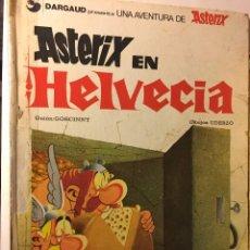 Cómics: ANTIGUO TEBEO AÑOS 70/80 BRUGUERA UNA AVENTURA DE ASTERIX EN HELVECIA R.GOSCINNY, A.UDERZO. Lote 100622975