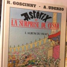 Cómics: BRUGUERA R.GOSCINNY, A.UDERZO FILM EN FRANCES ASTERIX ET LA SURPRISE DE CESAR. Lote 100623231