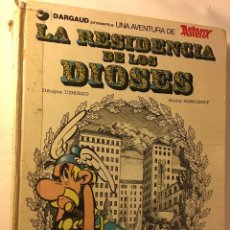 Cómics: ANTIGUO TEBEO AÑOS 70/80 BRUGUERA R.GOSCINNY A.UDERZO UNA AVENTURA ASTERIX RESIDENCIA DE LOS DIOSES. Lote 100624983