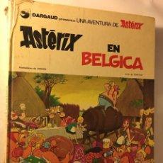 Cómics: ANTIGUO TEBEO AÑOS 70/80 BRUGUERA R.GOSCINNY A.UDERZO UNA AVENTURA ASTERIX EN BELGICA. Lote 100625683