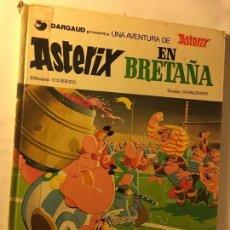 Cómics: ANTIGUO TEBEO AÑOS 70/80 BRUGUERA R.GOSCINNY A.UDERZO UNA AVENTURA ASTERIX EN BRETAÑA. Lote 100626251