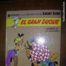 Cómics: (F.1) COMIC LUCKY LUKE EL GRAN DUQUE EDIC. GRIJALBO/DARGAUD AÑO 1982. Lote 156920282