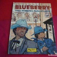 Cómics: LA JUVENTUD DE BLUEBERRY TRES HOMBRES PARA ATLANTA (CORTEGGIANI WILSON ) ¡MUY BUEN ESTADO! JUNIOR 33. Lote 100707187