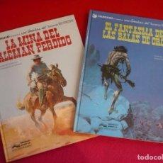 Cómics: BLUEBERRY LA MINA DEL ALEMAN PERDIDO + EL FANTASMA DE LAS BALAS DE ORO ( GIRAUD ) GRIJALBO 1 2. Lote 100724775
