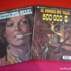 Cómics: BLUEBERRY CHIHUAHUA PEARL + EL HOMBRE QUE VALIA 500000$ ( GIRAUD ) ¡MUY BUEN ESTADO! GRIJALBO 7 8. Lote 100725007