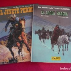 Cómics: BLUEBERRY EL JINETE PERDIDO + LA LARGA MARCHA ( GIRAUD CHARLIER ) ¡MUY BUEN ESTADO! GRIJALBO 19 20. Lote 100726263